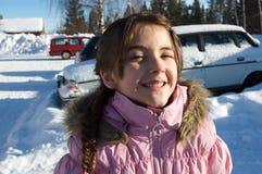 Fille espiègle Image libre de droits