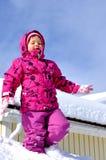 Fille espiègle Image stock