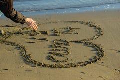 Fille et amour Photo libre de droits