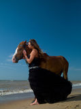 Fille et cheval Photos libres de droits