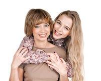 Fille et mère Photos libres de droits