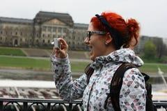 Fille Excited Photo libre de droits
