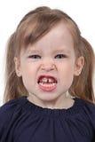 Fille fâchée photographie stock libre de droits