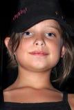 Fille géniale de Tween Photographie stock libre de droits