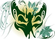 Fille-guindineau magique Photos libres de droits