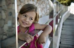 Fille heureuse photo libre de droits