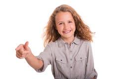 Fille heureuse Images libres de droits