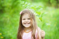 Fille heureuse Image stock