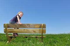 Fille heureuse photos libres de droits