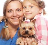 Fille heureuse de mère de famille Photos libres de droits