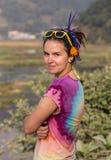 Fille hippie Image libre de droits