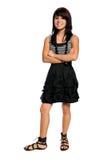 Fille hispanique d'adolescent Images stock