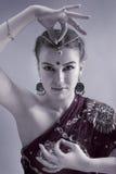 Fille indienne Image libre de droits