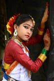 Fille indienne de danseur Photos libres de droits