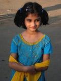 Fille indienne mignonne Photos stock