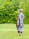 Fille indigène Images stock