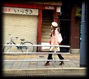 Fille japonaise photo stock