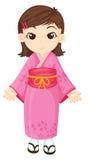 Fille japonaise Photos stock