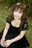 Fille japonaise de bal d'étudiants Image stock
