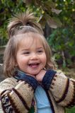 Fille joyeuse Photographie stock libre de droits