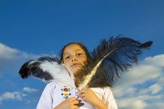 Fille latine Photos libres de droits