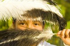 Fille latine Photo libre de droits