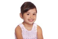 Fille latine d'enfant Images libres de droits
