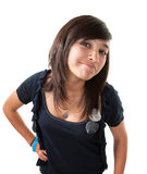 Fille latine mignonne photos libres de droits