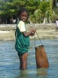 Fille malgache Photographie stock libre de droits
