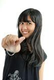 fille mignonne asiatique Image libre de droits