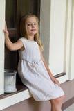 Fille mignonne cinq années Photos libres de droits