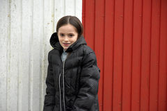 fille mignonne d'adolescent photographie stock libre de droits