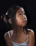 fille mignonne de l'Asie Photo stock