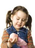 fille mignonne de poupée peu Photographie stock libre de droits