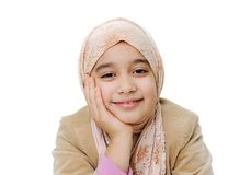 Fille musulmane Images stock