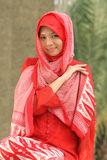 Fille musulmane Photo stock