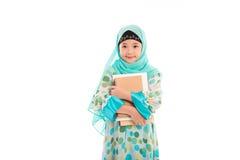 Fille musulmane mignonne photographie stock