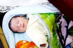 Fille nouveau-née Arabe photos stock
