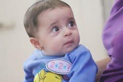 Fille nouveau-née Arabe Photographie stock libre de droits