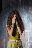 fille pleurante Images libres de droits