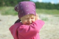 Fille pleurante Image libre de droits