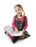 Fille préscolaire Images libres de droits