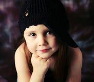 Fille préscolaire magnifique Photo stock