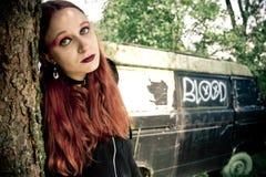 Fille punk Photographie stock libre de droits