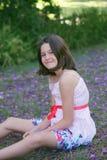 Fille rêveuse Photographie stock libre de droits