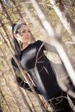 Fille - Raven Image libre de droits