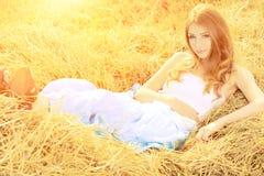 Fille romantique Image stock