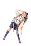 fille scout images stock