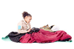fille scout photographie stock