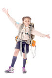 fille scout photos stock